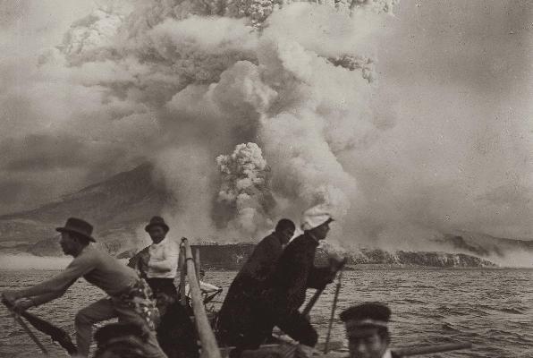 Sakurajima vulkanudbruddet i 1914