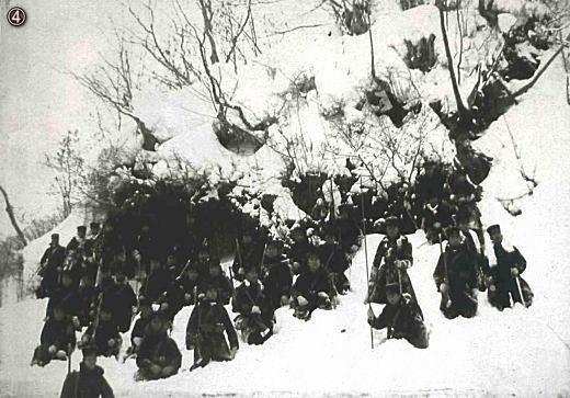 Tragedien i Hakkoda-bjergene i 1902