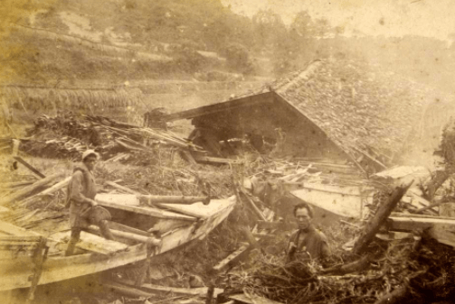 Sanriku-jordskælvet og tsunamien i 1896