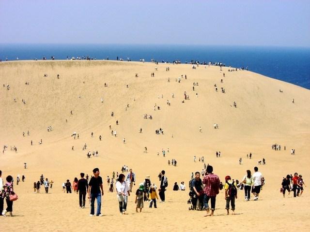 Sandklitterne i Tottori
