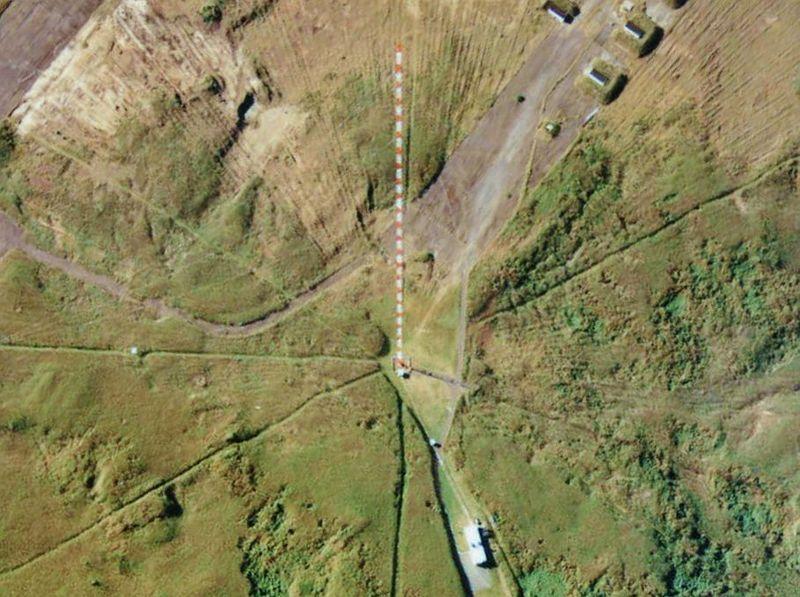 Antennekollapset på Iwo Jima