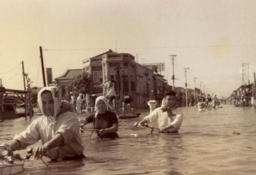 Tyfonen Ida i 1958
