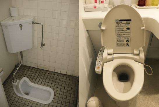 Toiletter i Japan