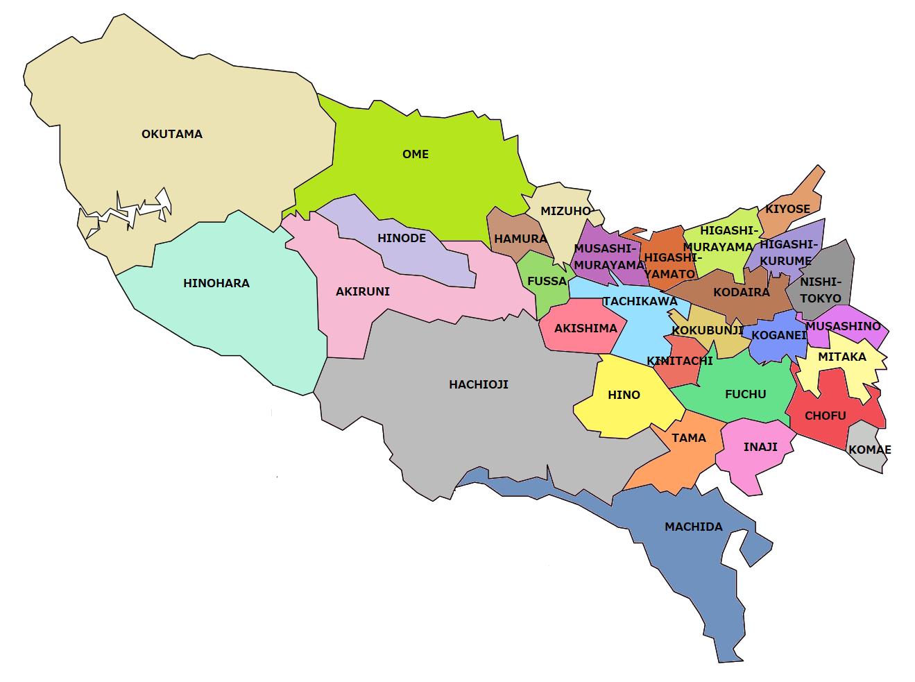 Tama-regionen