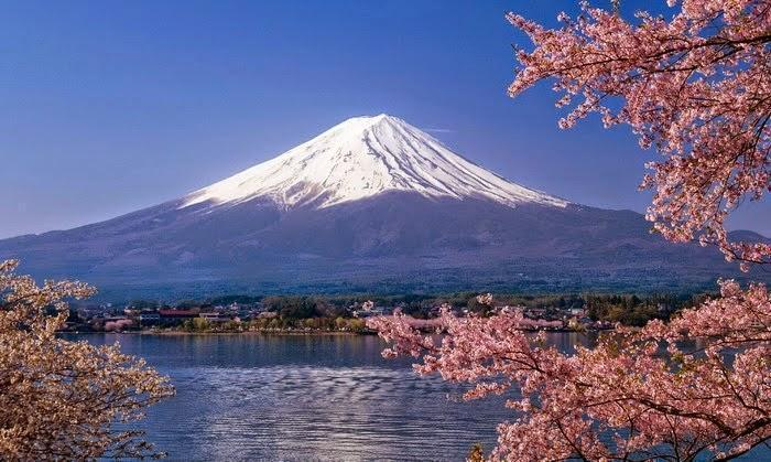 Stenskreddet på Fuji-bjerget i 1980