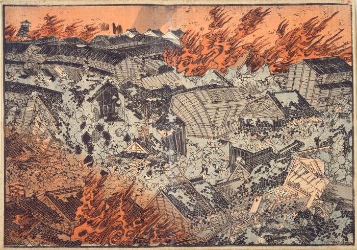 Edo-jordskælvet i 1855