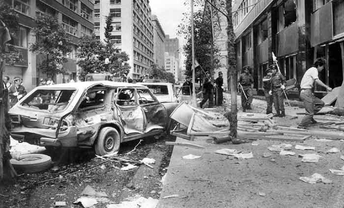 Bombningen af Mitsubishis hovedkvarter