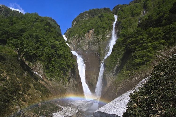Shomyo- og Hannoki-vandfaldene