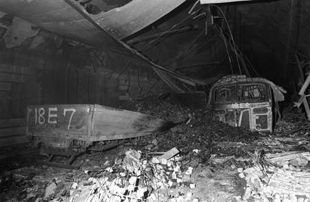 Tragedien i Nihonzaka-tunnelen