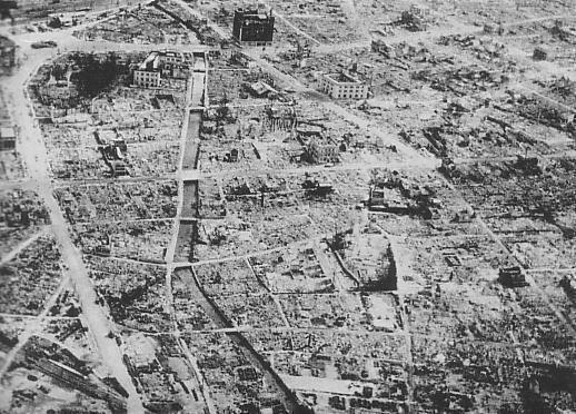 Bombetogterne i Hamamatsu
