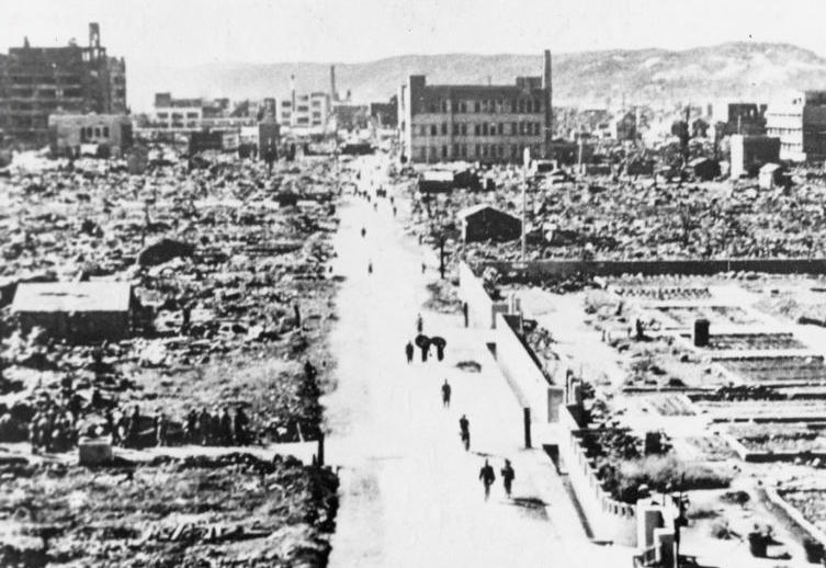 Bombetogterne i Okayama