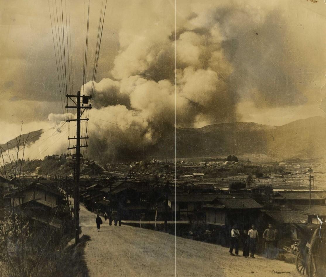 Branden i Iida