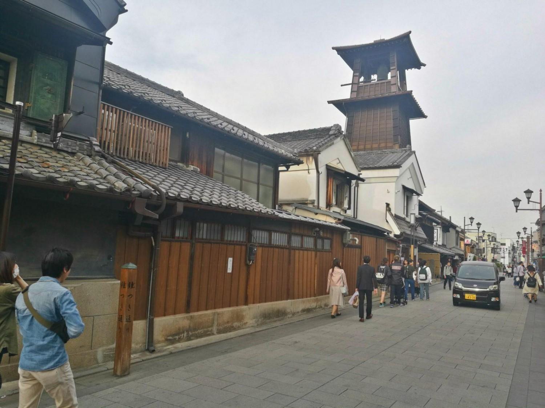 Varehusdistriktet i Kawagoe