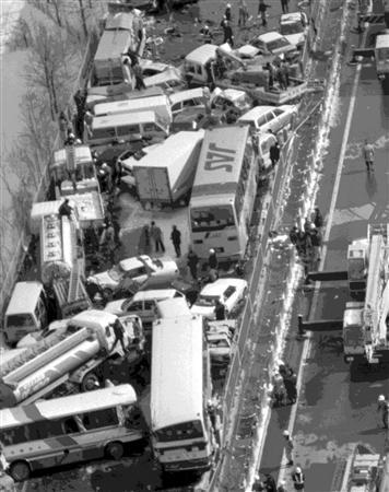 Ulykken med de 186 køretøjer