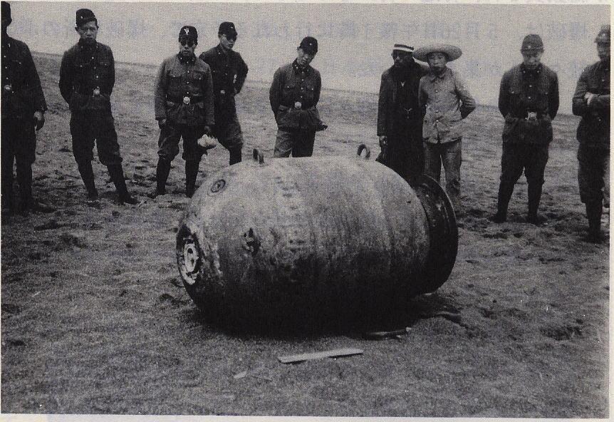 Mineeksplosionen ved Yubetsu-floden
