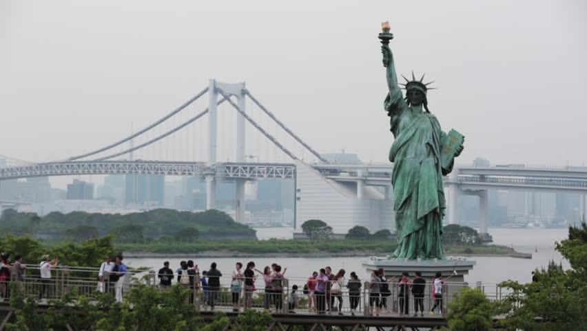 Frihedsgudinden i Tokyo