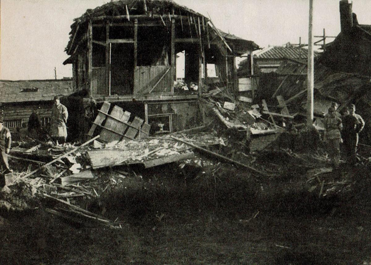 Bombetogterne i Odawara