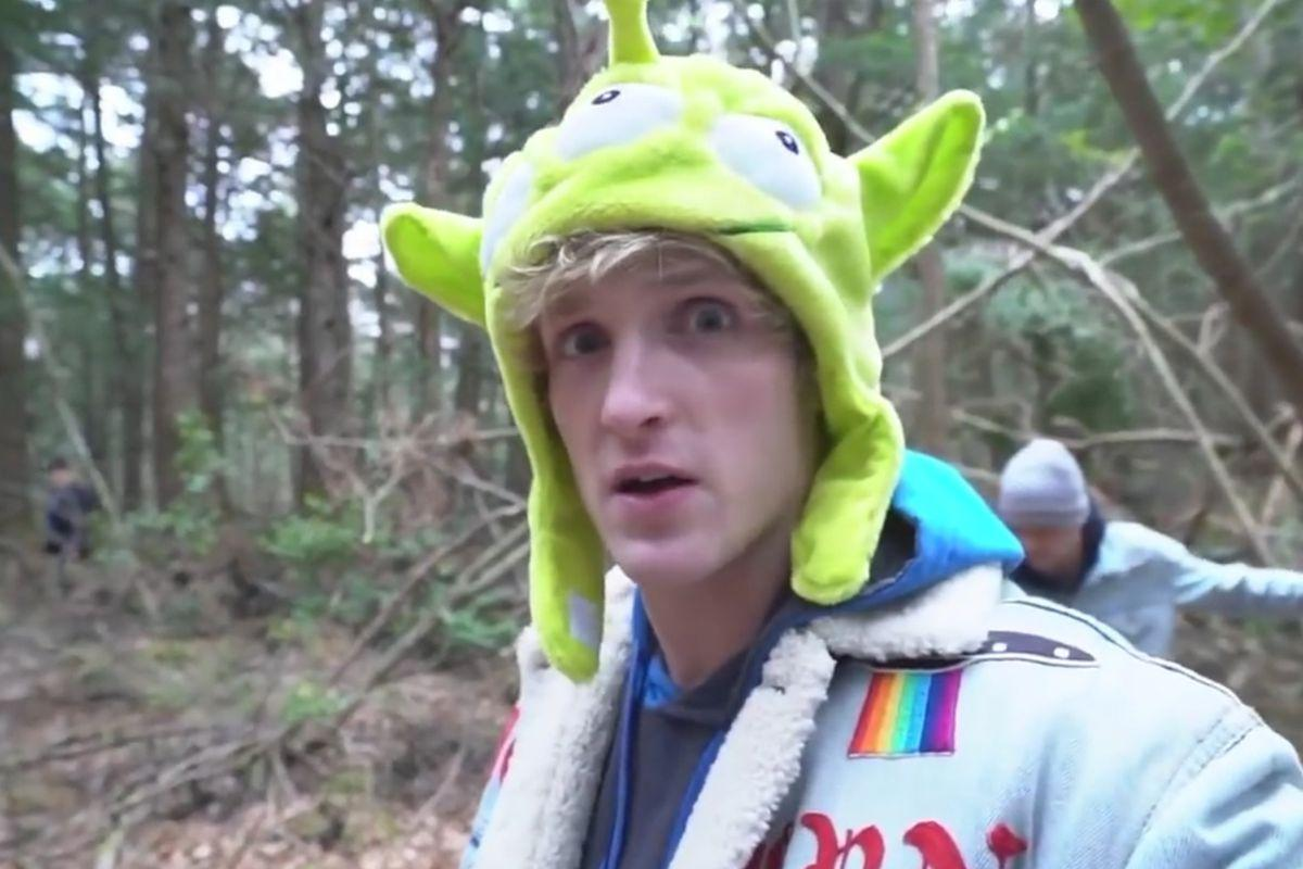 Logan Paul i Aokigahara