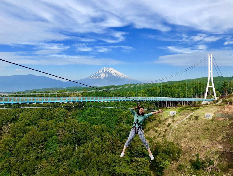 Mount Fuji View Zip Line