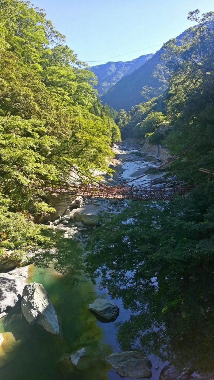 22. juli 2018: Fra Iya-dalen til Shingu