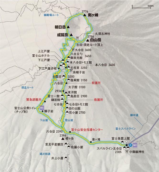 Vejledning i at bestige Fuji-bjerget
