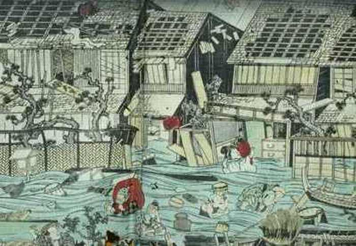 Genroku-jordskælvet og tsunamien i 1703
