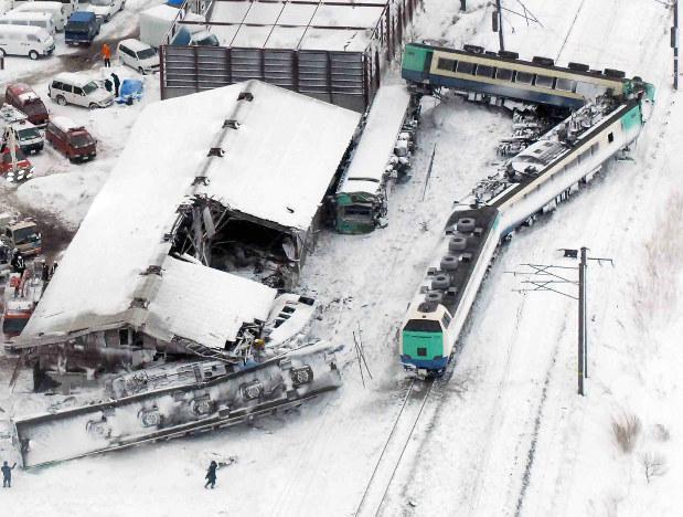 Togulykken på Uetsu-linjen