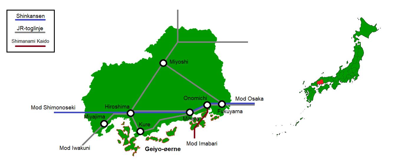 Geiyo-øerne