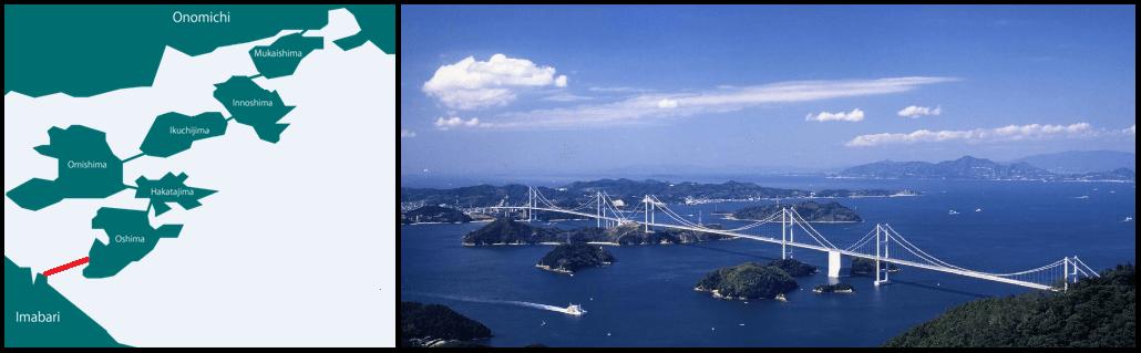 Vejledning til Shimanami Kaido
