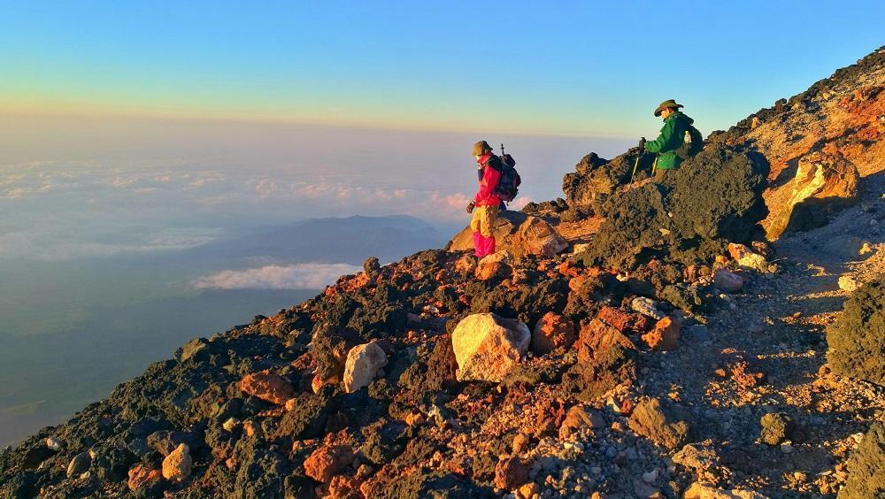På toppen af Fuji-bjerget (2018)