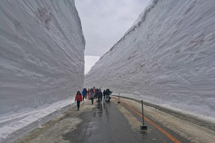 Snekorridoren på den japanske alperute (2019)