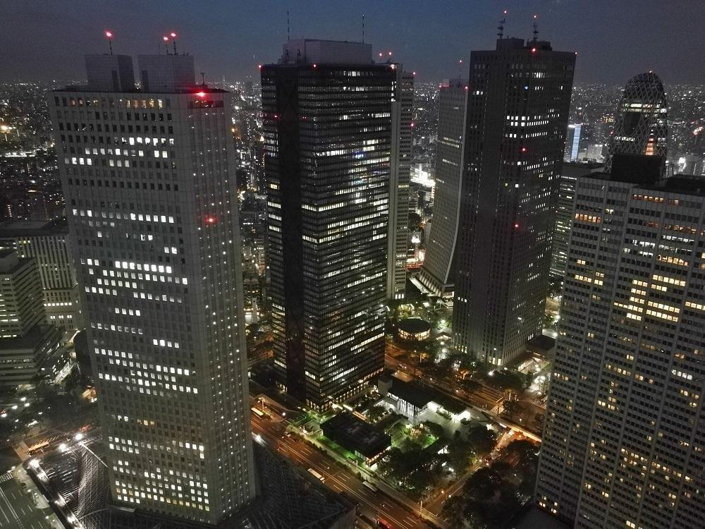 Udsigt fra Tokyo Metropolitan Government Building (2019)