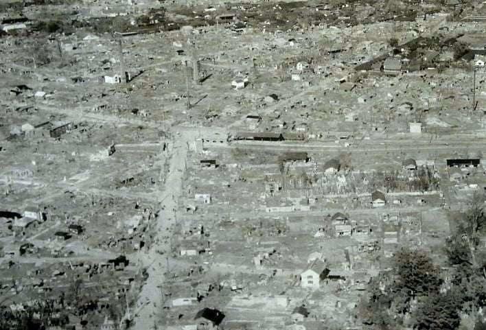 Bombetogterne i Maebashi