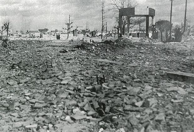 Bombetogterne i Imabari
