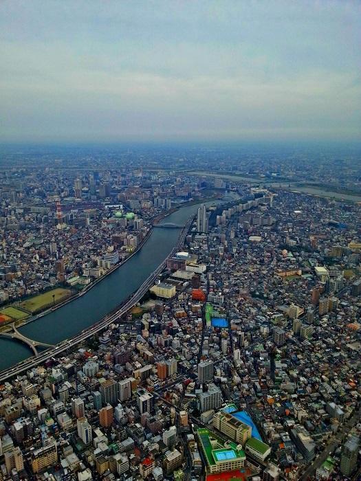 Udsigt fra Tokyo SkyTree (2016)