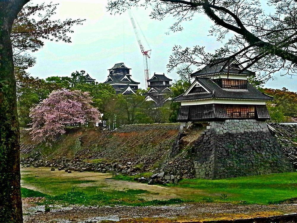 Kumamoto-borgen efter jordskælv (2017)