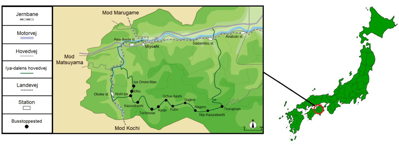 Vejledning til Iya-dalen