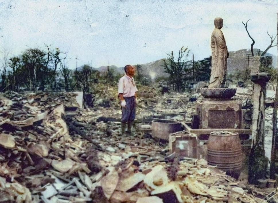 Bombetogterne i Matsuyama