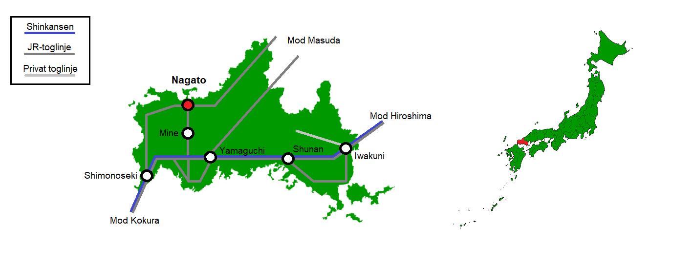 Nagato og omegn