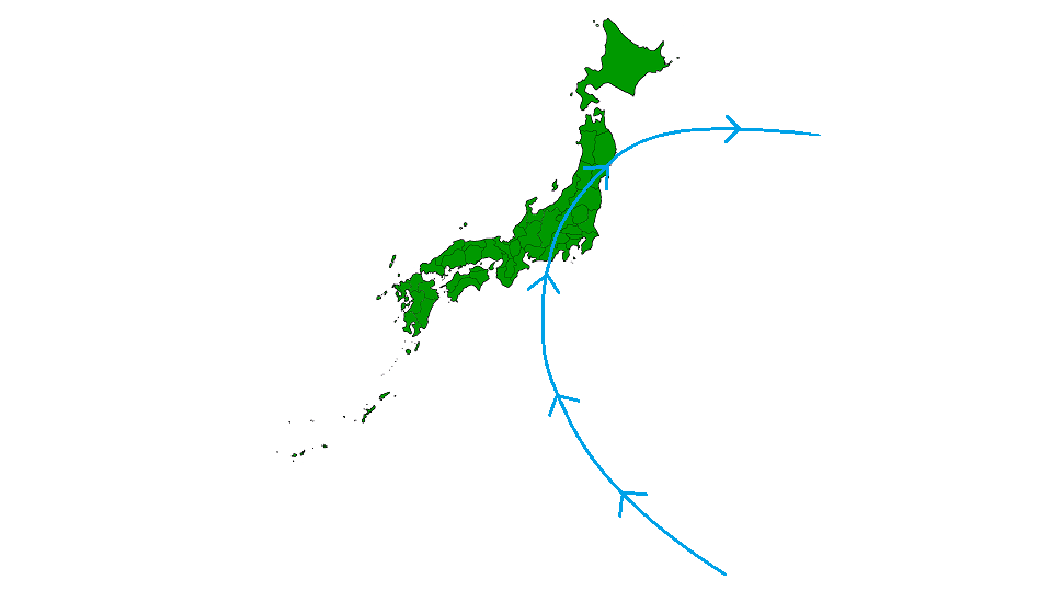 Tyfonen Ida i 1966