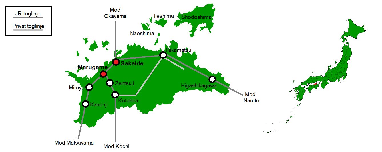 Marugame og Sakaide