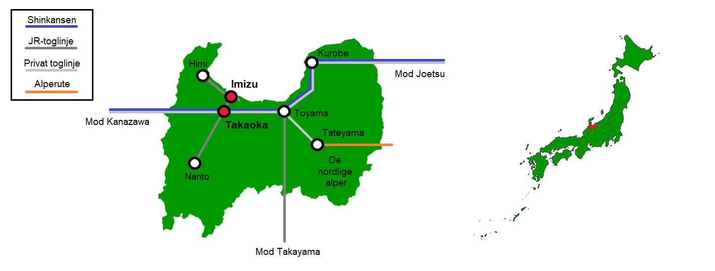 Takaoka og Imizu