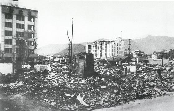 Bombetogterne i Kofu