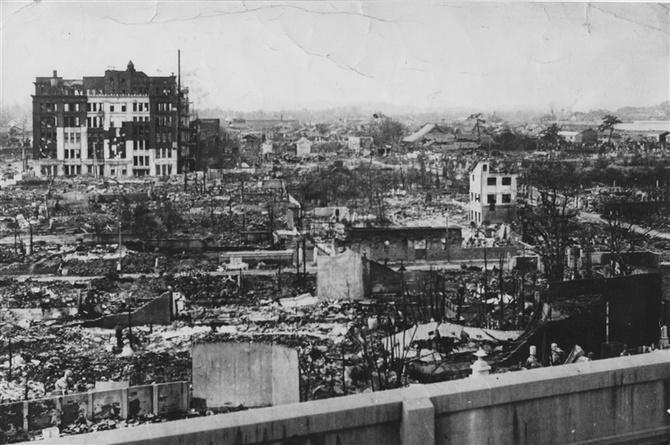 Bombetogterne i Fukuoka
