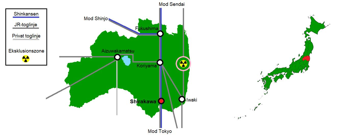 Shirakawa og omegn
