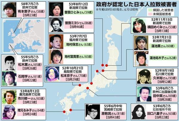 De nordkoreanske kidnapninger