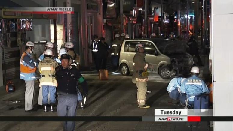Køretøjsangrebet i Harajuku