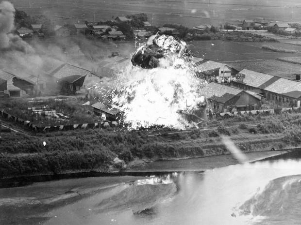 Bombetogterne i Kumamoto