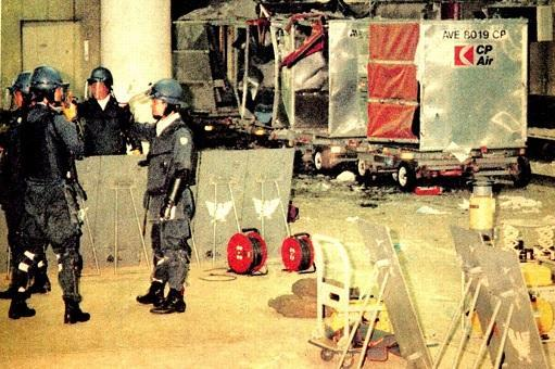 Bomben i Narita lufthavn
