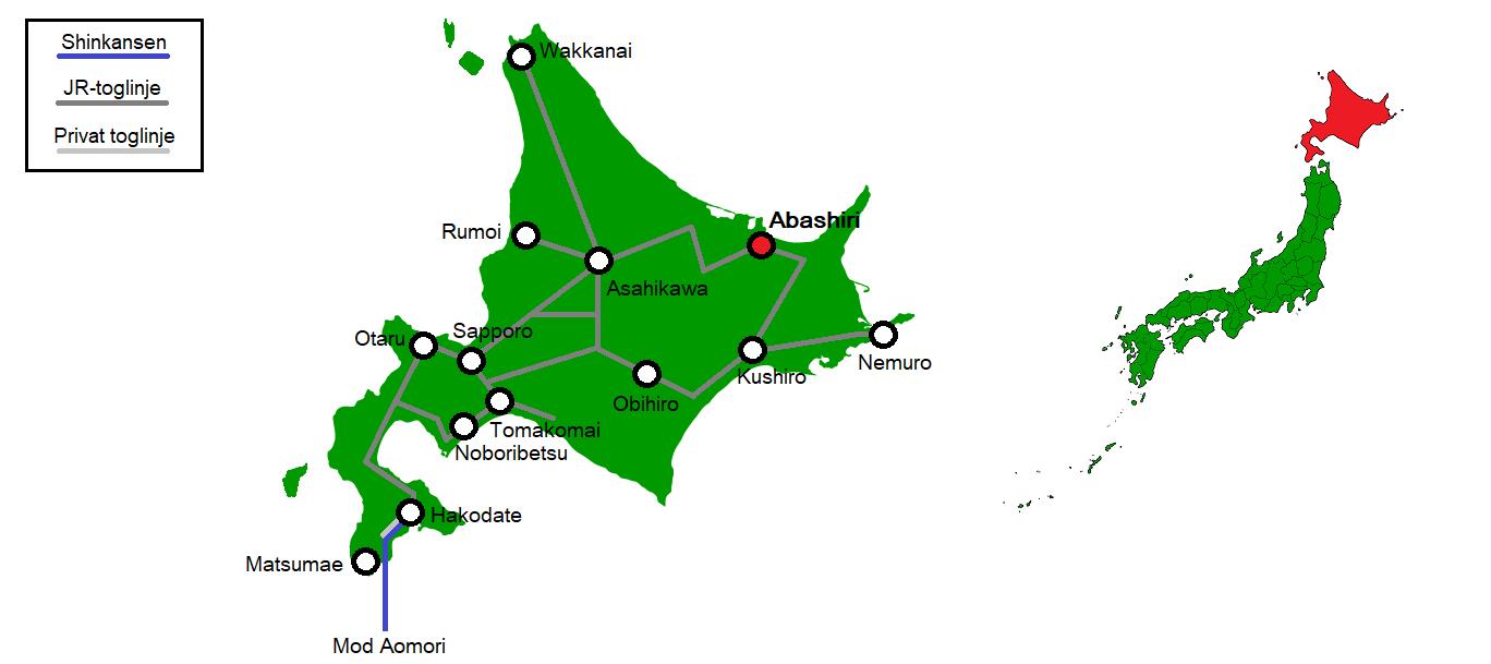 Abashiri og omegn
